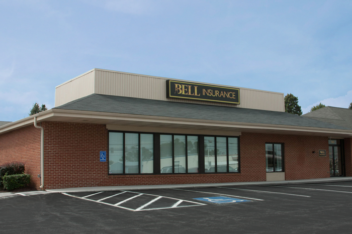 Photo of the front of the Bell Hanover Office