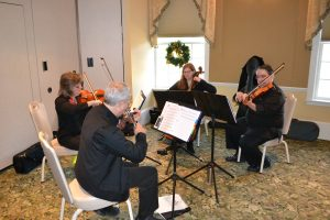 Photo of Musicians at the Bell Christmas Party